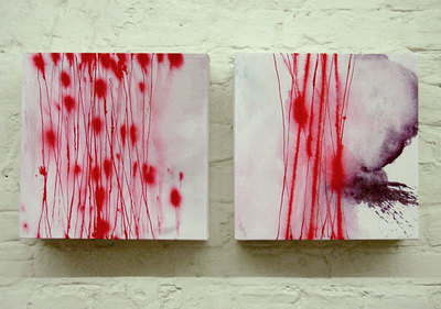 Isabella Trimmel, abstract paintings on canvas